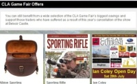 Unmissable CLA Game Fair Offers!